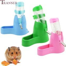 Transer Hewan Peliharaan Makan 80 Ml 120 Ml Kecil Hewan Otomatis Botol Air Dispenser Hewan Peliharaan Makanan Feeder Mangkuk untuk Hamster Tupai 71229