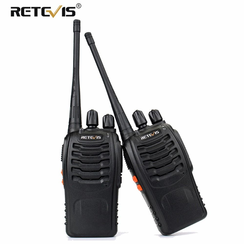 2 pcs Retevis H777 Handy Talkie Walkie De Poche Émetteur-Récepteur UHF 400-470 mhz Fréquence Portable Two-Way Radio station Communicateur