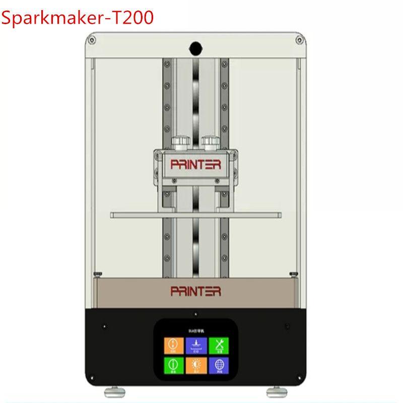 Sparkmaker-T200 2 K 216*135*200mm UV Harz SLA/DLP/LCD 3d drucker