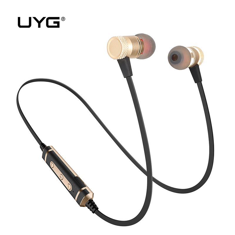 UYG U77 Bluetooth Earphone Wireless Earphones Bluetooth Headset Auriculares Stereo Headphones With Microphone For Mobile Phone