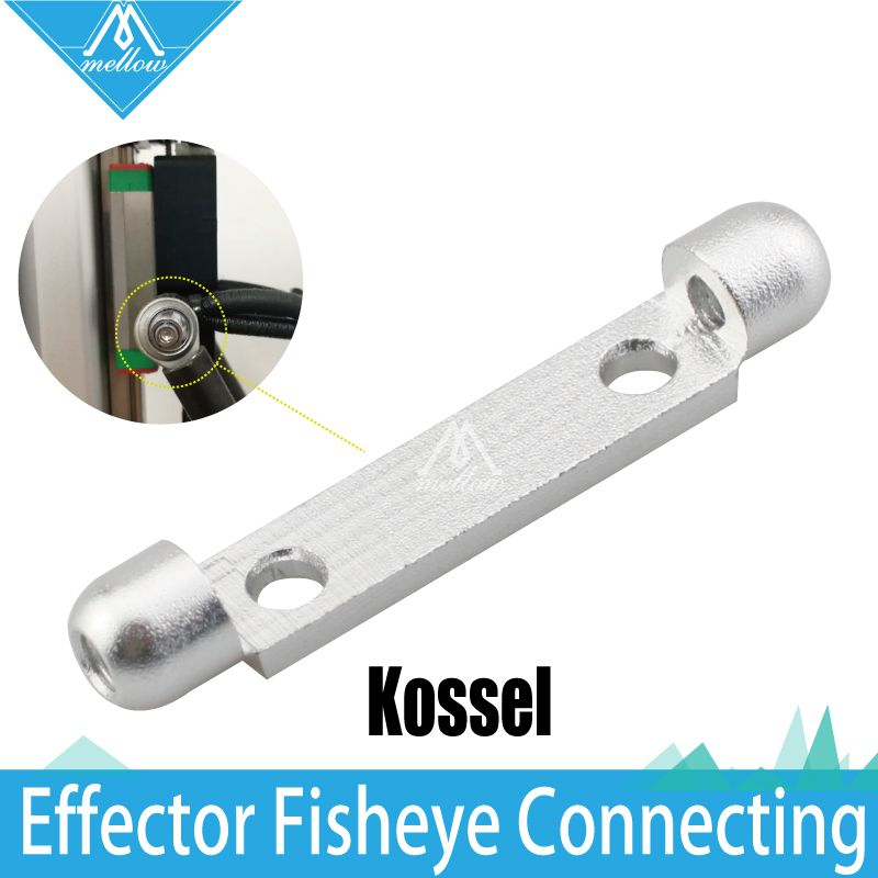 3D printer accessories Kossel fisheye effector connector  unit triangle type effector connection