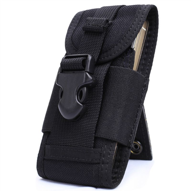 OneTigris MOLLE Tactique Téléphone portable Smartphone Pouch fit iPhone 4 5 SE Samsung HTC Nylon Courir Téléphone Portable Sac