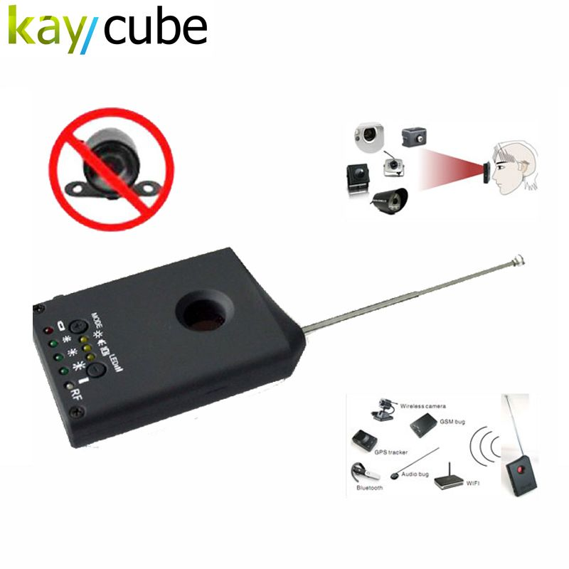 Le plus chaud Sans Fil Anti Espion Détecteur LDRF-DT1 Audio GSM Bug Détecteur De Signal GPS Lentille RF Tracker Signal Détecteur De Bogue Chasse Signal Radio
