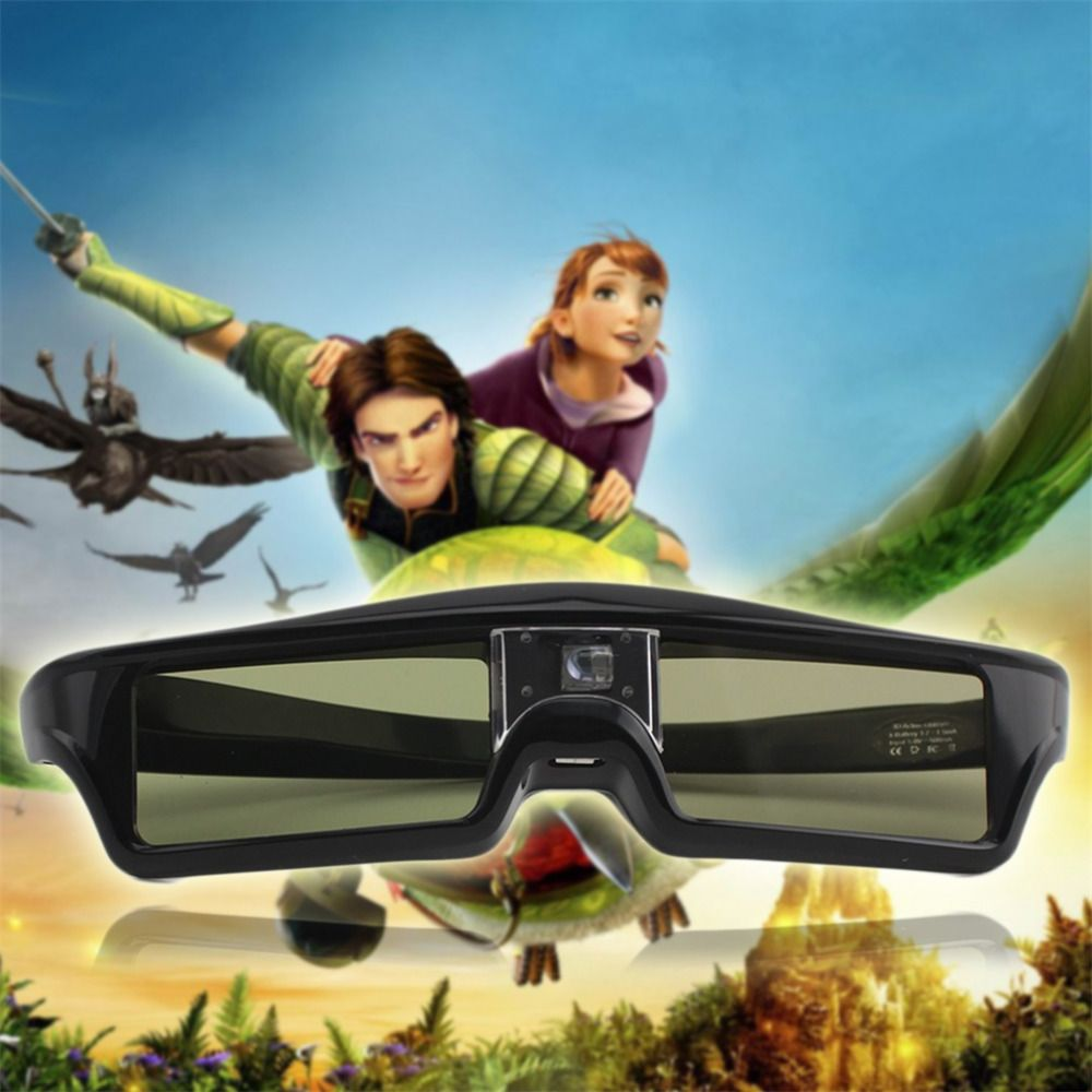 3D IR Active Shutter Glasses For BenQ W1070 W700 W710ST DLP-Link Projector new arrival Drop Shipping