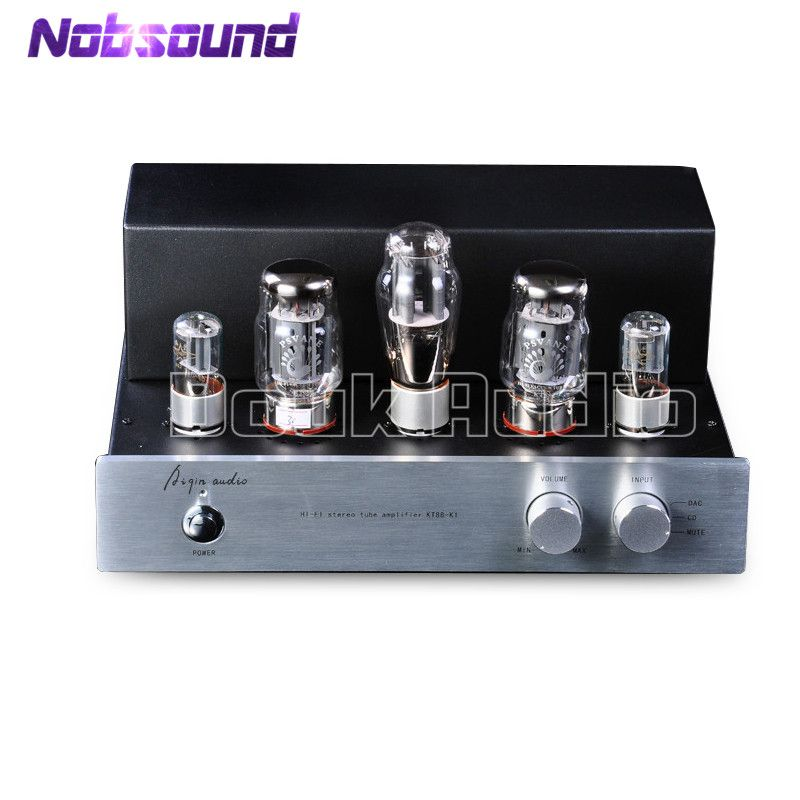 Aiqin Hi-end KT88-K1 Vacuum Integrated Tube Amplifier Stereo Single-ended Class A 2.0 Channel Power Amplifier 15W*2