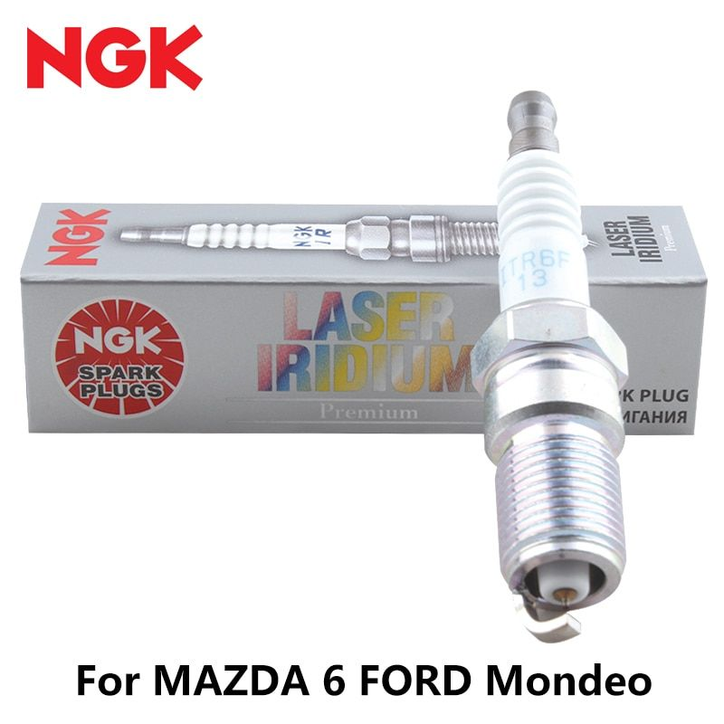 1pcs/lot NGK iridium platinum car spark plug ITR6F13 4477 for MAZDA 6 FORD Mondeo auto part