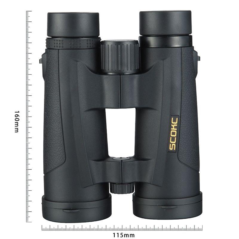 SCOKC 8x42 Compact Ferngläser für Vogel Beobachten Wasserdichte Bak4 Stickstoff Gefüllt Teleskop für reisen Jagd Birding