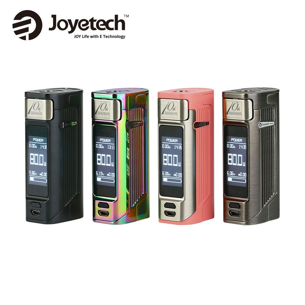 Original Joyetech ESPION Solo 21700 80W TC Box MOD with 1.3 inch OLED touchscreen no 18650 cell 10 anniversary limited edition