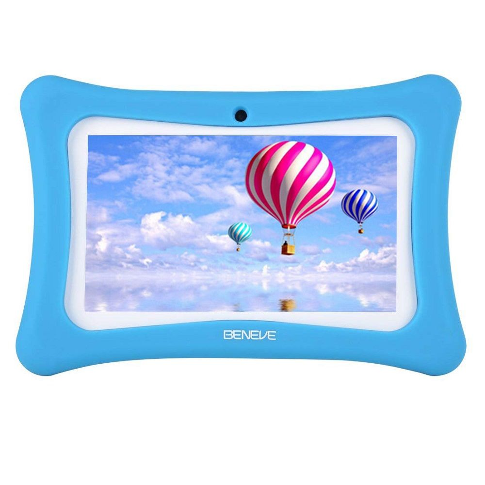 Kids Learning Machine 7inch Children Tablet PC 1G+8GB A7 Quad Core Android 7.1 Dual Camera Language Training Computer Gift Toy