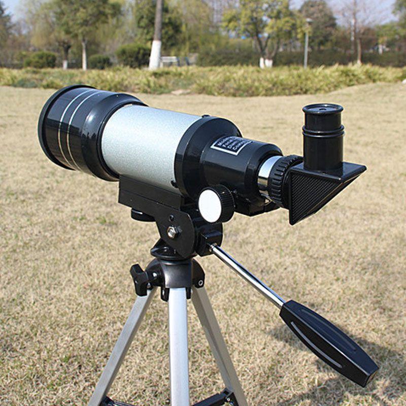 Véritable Astronomique Télescope F30070 Optique télescope Professionnel monoculaire astronomique Jumelles Zoom portée Science Jnash