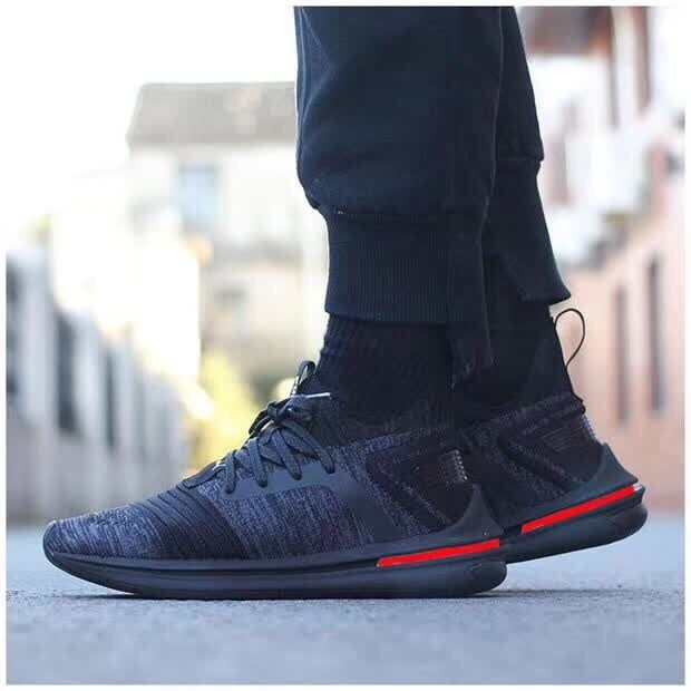 2018 New Arrival Original PUMA IGNITE Wear-Resisting Cushioning Men's shoes Fleece leather Badminton Shoes Sneakers Size 40-44