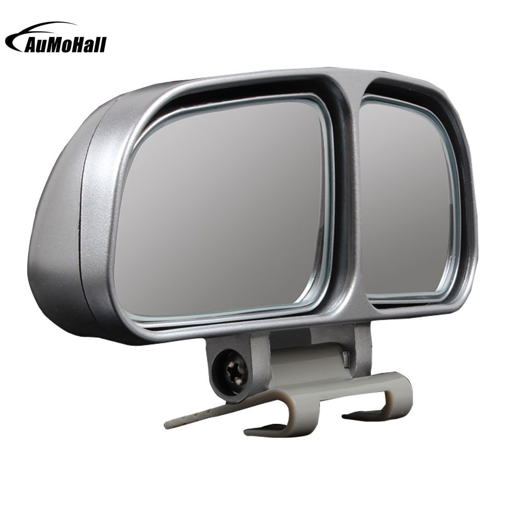 1 Pair Car Mirrors Auto Rearview Mirror Wide Angle Side RearView Car Universal Blind Spot Square Mirror of 2 Colors