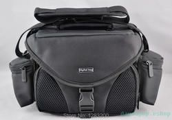 Black CAMERA BAG SLR for Canon Nikon Samsung Canon Sony  --- free shipping