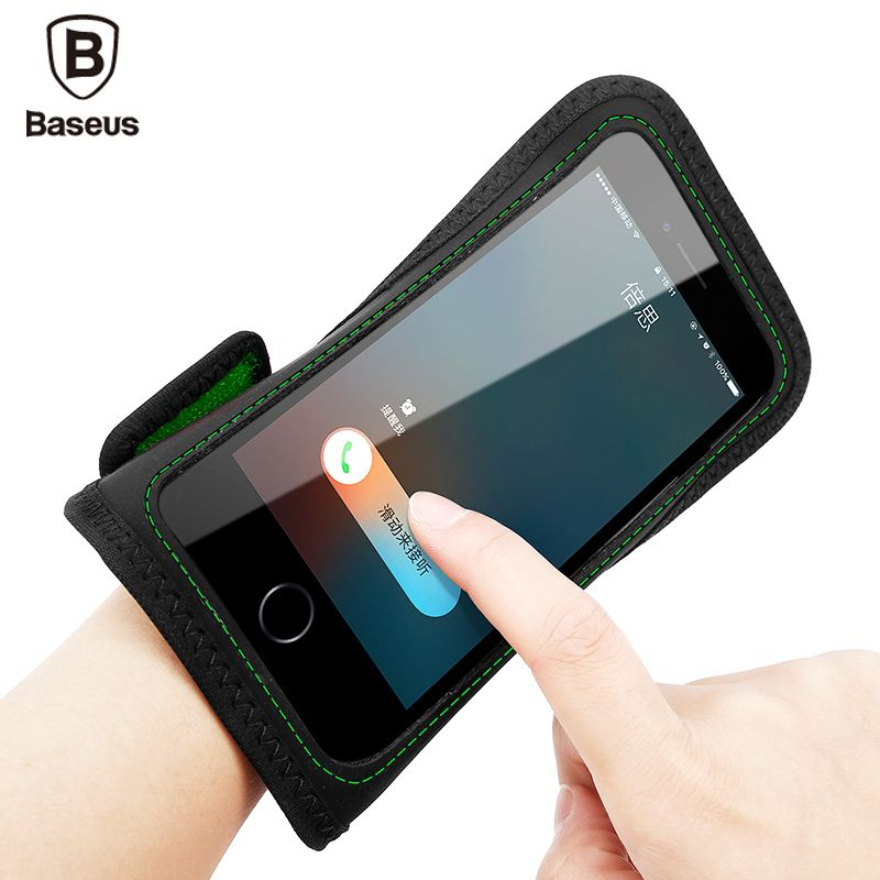 Baseus Armband Case For iPhone 7 6 6s Plus Samsung S8 Plus Sports Mobile Phone Holder Brassard Running Wristband Hand Phone Case