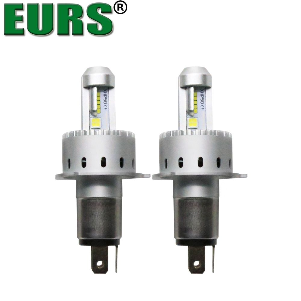 EURS 2PCS Top Selling Products 7S H1 H7 H11 9005 9006 9012 8000LM 6500K 40W DC12V-24V Auto led Headlight H4