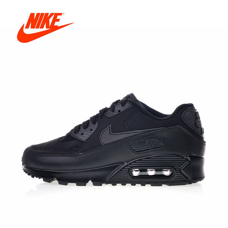 Original New Arrival Authentic Nike Air Max 90 Essential Men's Comfortable Running Shoes Sport Outdoor Sneakers 537384-090