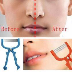 Face epilator rasierhobel Facial Hair Remover Tool Face Beauty 3 Spring Threading Removal Epilator