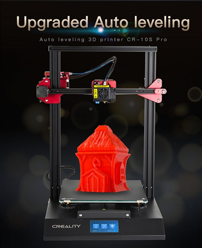 CREALITY 3D Upgrade Auto Nivellierung CR-10S Pro Touch LCD V2.4.1 Motherboard Doppel Extrusion Lebenslauf Druck Filament Erkennung
