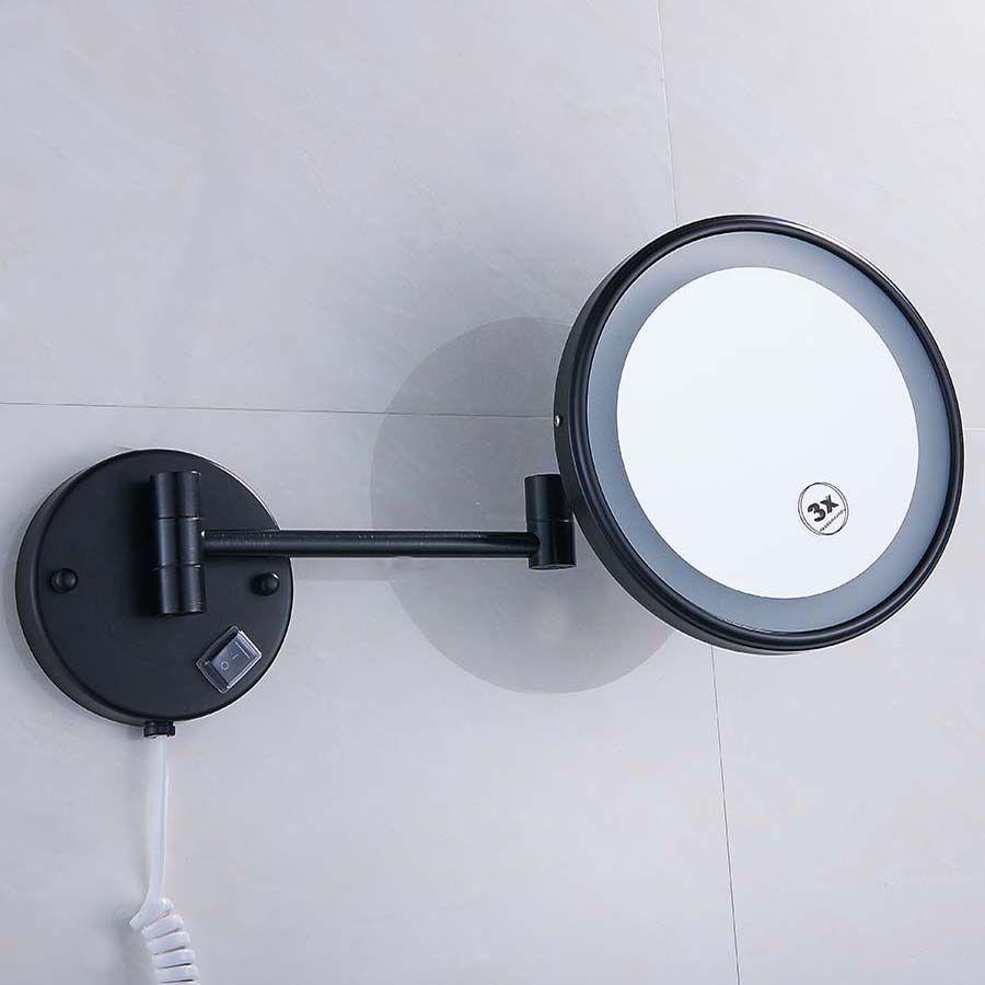 Brass LED Lamp Mirror For Bathroom 8