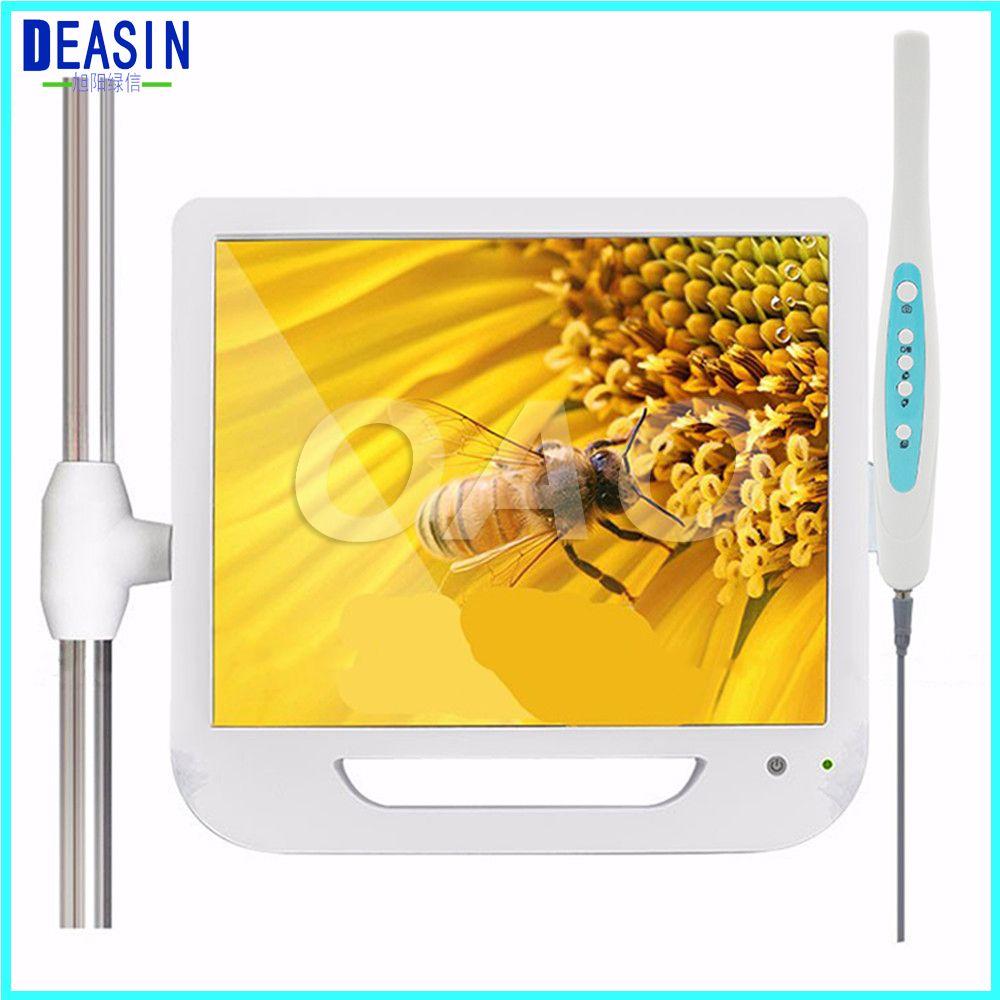 2018 Good Quality 17 Inch Monitor USB / Wifi Intraoral Endoscope Endoscope Camera 6 Led Camera Dental Camera Dental Light Denti
