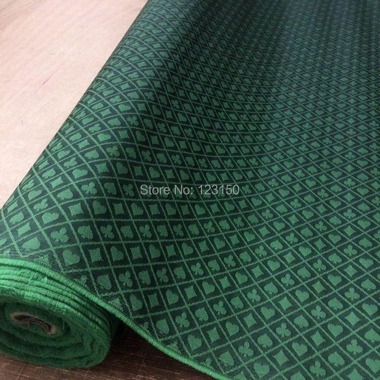 FT-04 двухцветный покер Скорость ткань, 2.5 м Длина, черный и зеленый Водонепроницаемый Подходит Высокое Скорость ткань для покера Таблица