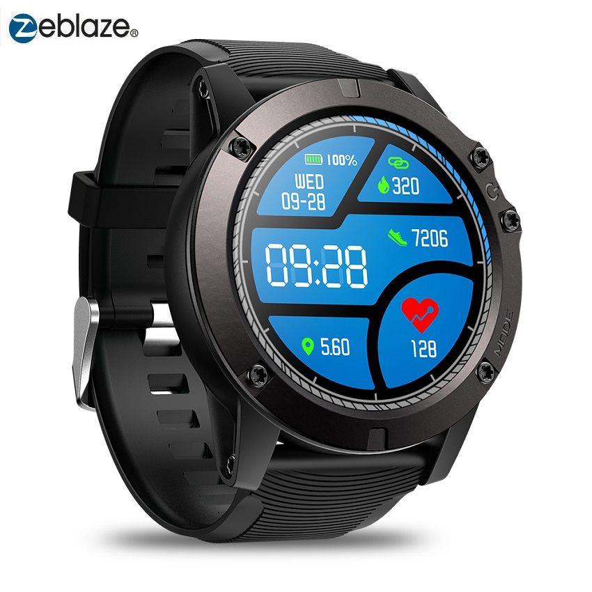 Montre intelligente Zeblaze VIBE 3 PRO Bluetooth 4.0 sport Smartwatch moniteur de fréquence cardiaque capteur de proximité accéléromètre pour IOS Android