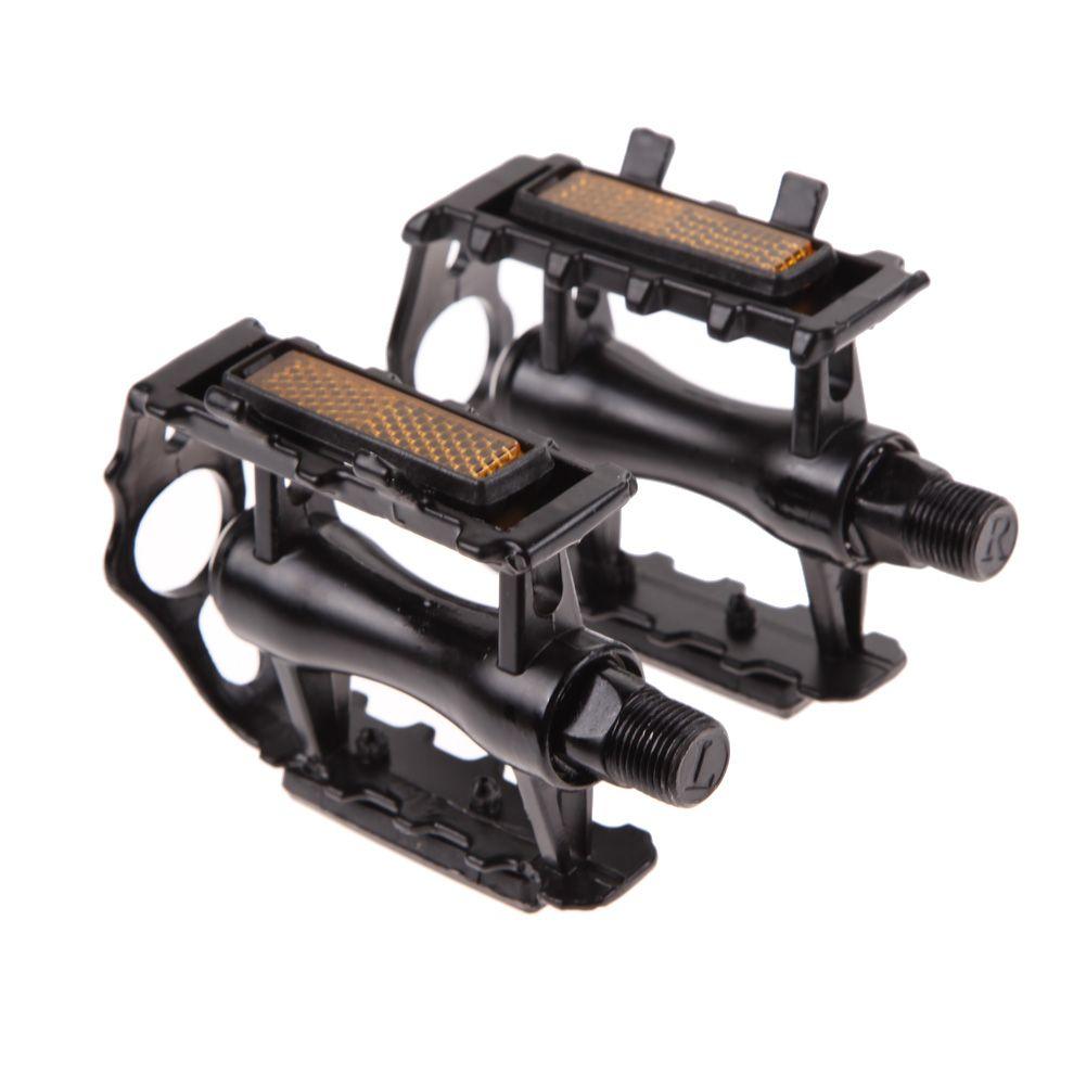 1 paire pédale de vélo avec dent BMX vtt alliage d'aluminium vélo de montagne vélo 9/16
