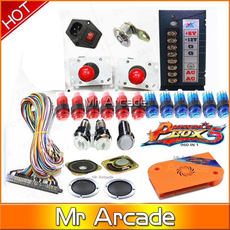 2018 neue ankunft pandora box 5 jamma arcade ame box 960 in 1 arcade bündel für schrank
