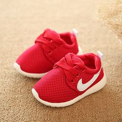 Brand Baby Mesh Shoes Kids Spring Super Soft Bottom  Shoes Boots Autumn Children Glowing Sneakers For Boy Girls Shoes
