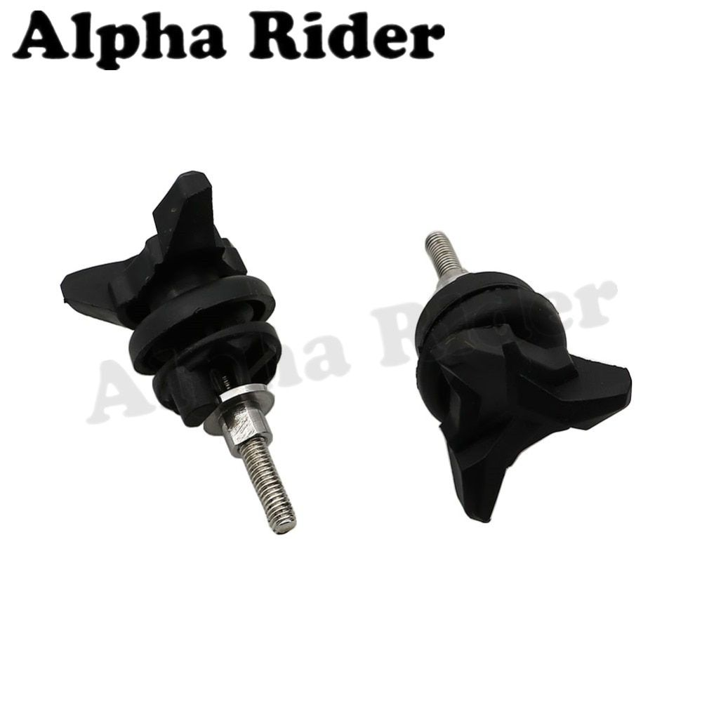 Pair Motorcycle Windshield Adjustment Screw WindScreen Mount Clip Clamp Bolt for BMW R 1200 GS R1200GS ADV Adventure 2004-2016
