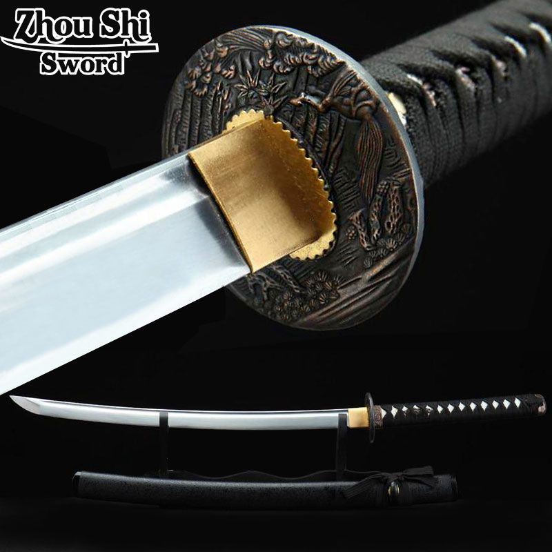 Japanese katana sword Rustic knife Ngok Full handmade The unique design Samurai sword Household collectibles
