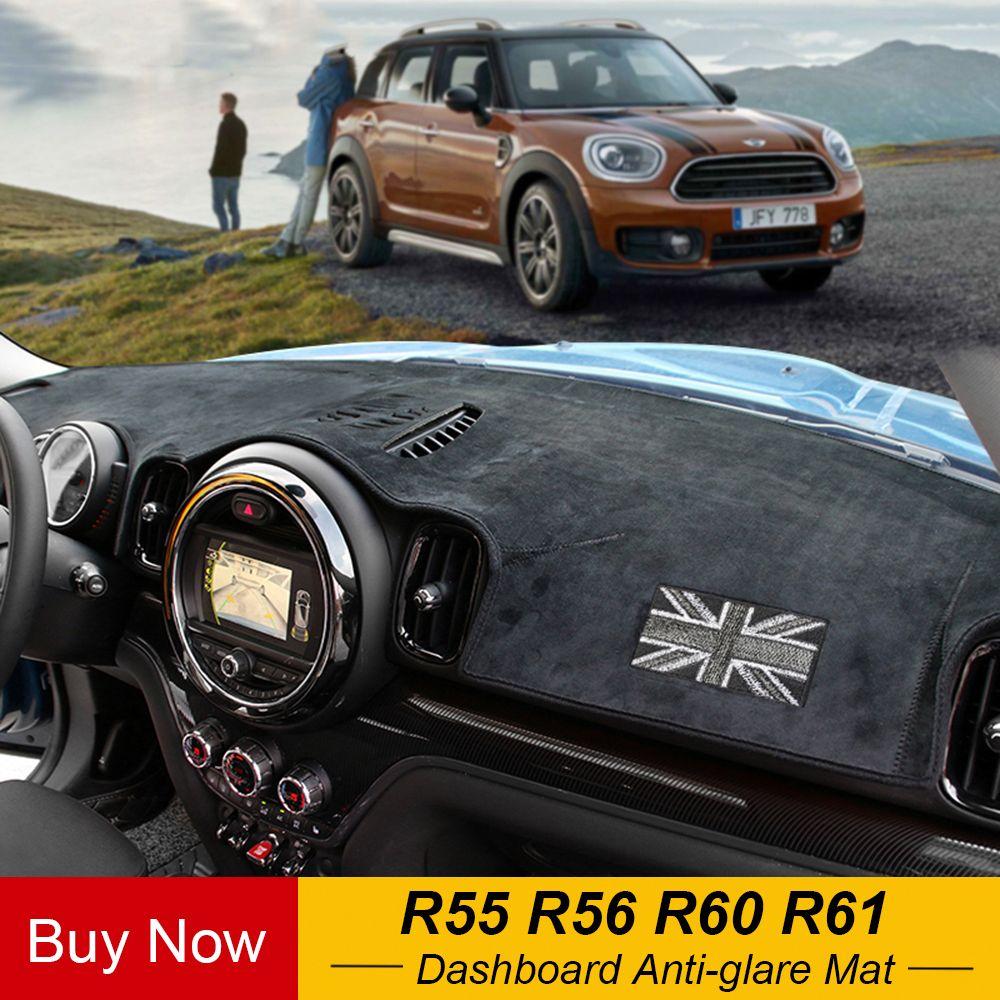 Auto Dashboard Anti-glare Matten Teppich Abdeckung Center Konsole Schutz Für Mini Cooper Eine Jcw R55 R56 R60 Countryman r61 Paceman