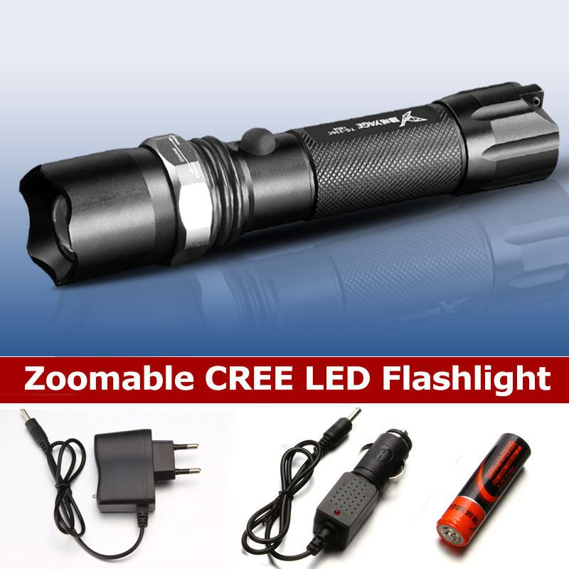 YAGE 336C Rechargeable 18650 flashlight cree Led Flashlight Torch Lanterna Torche Lampe Lantern lampe de poche Zoomable Flash