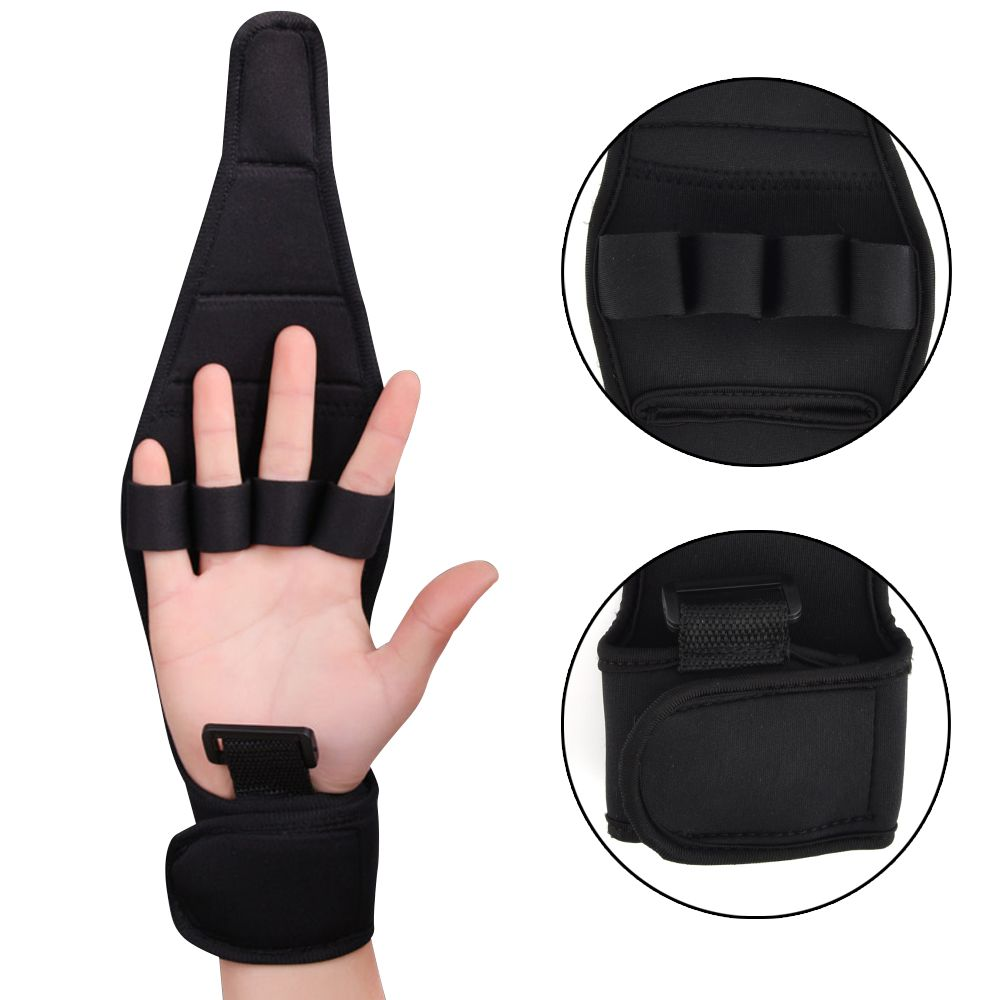 Finger Anti-Spasticity Rehabilitation Auxiliary Training Gloves For Stroke Hemiplegia Patient And Athlete Finger Rehabilitation