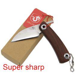 Hot menjual super steel Rambut tukang cukur pisau cukur pisau cukur, Super tajam Tangan dipoles pisau cukur, portabel pisau cukur pria pisau MINI