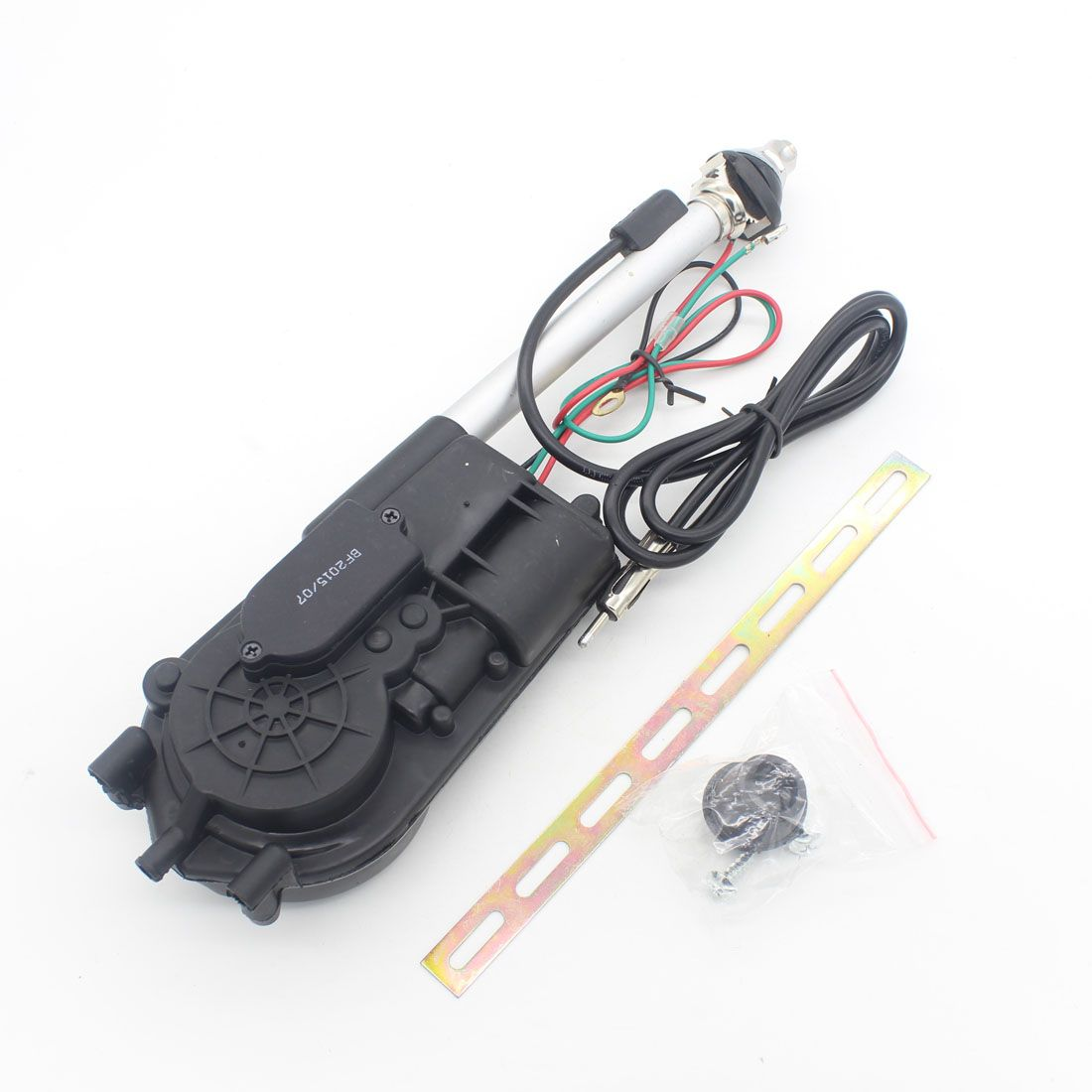 1X Universal Auto Car Aerial Antena Electric Radio Antenna Automatic Booster SUV Electric Power 12V FM/AM Retractable Antenna