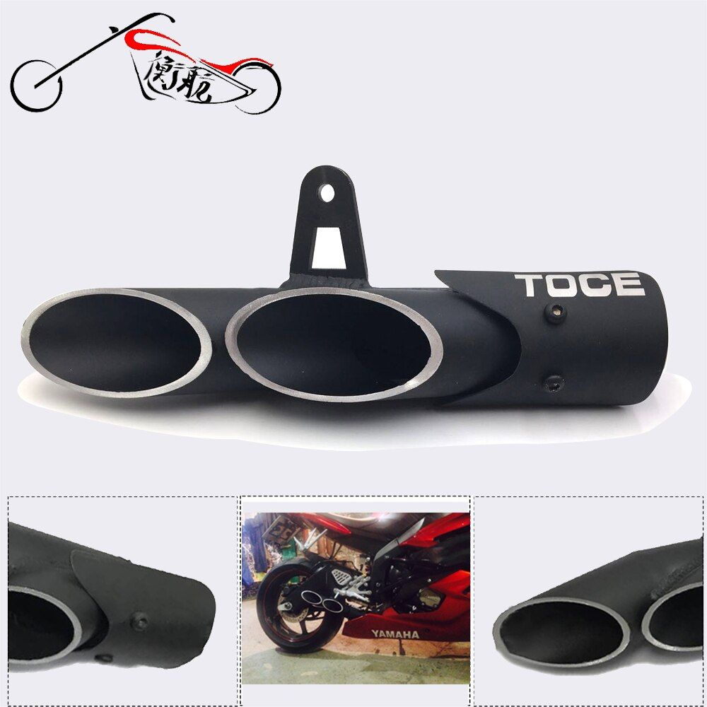 FOR R6 2006-2016 The high quality Modified exhaust exhaust TOCE modified exhaust pipe bomb personality TOCE Street