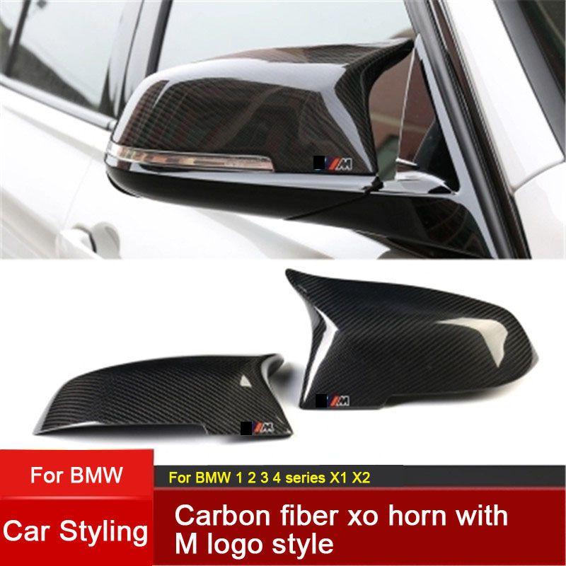 Replacement Carbon Fiber Mirror Covers Caps Shell for BMW 1 2 3 4 series M series F20 F21 F22 F23 F30 F31 F32 F33 F34 F35 E84