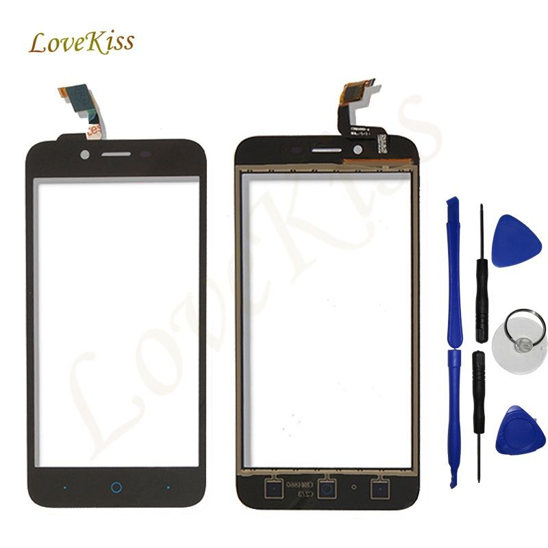 Lovekiss Front Panel Sensor For ZTE Blade L4 A460 L4 Pro A465 T610 A475 Touch Screen Digitizer Outer Glass Lens Replacement