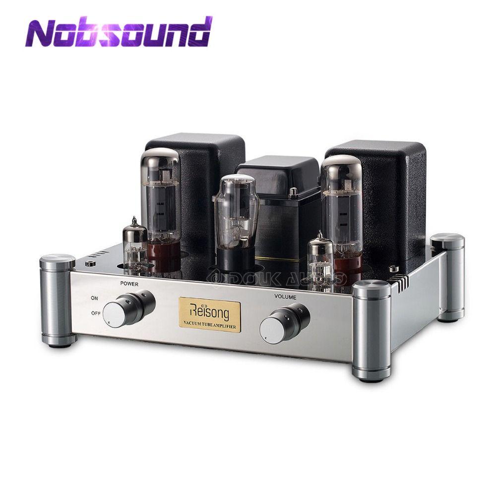 2019 Nobsound Hallo-End EL34 Single-ended Ventil Rohr Verstärker Stereo Klasse A HiFi 2,0 Kanal Power Amp 24 W