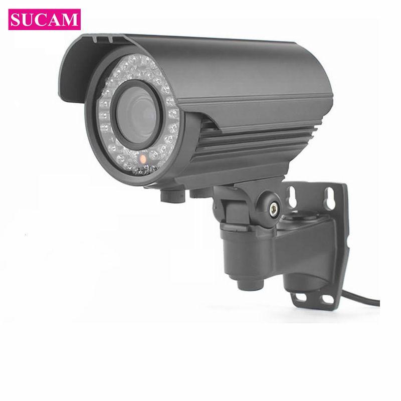 SUCAM Outdoor 5MP Vario IP Sicherheit CCTV Kamera 4 XZoom 4 karat ONVIF Wasserdichte Cctv-kamera Motion Erkennung E-mail Alarm 30 mt IR