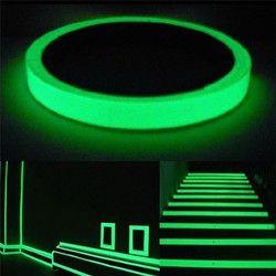 LESHP cinta luminosa 3 m Longitud autoadhesivo cinta de visión nocturna resplandor en la seguridad oscura advertencia seguridad etapa Home decoración cintas