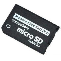 Memory card adapter Micro SD to Memory Stick Adapter For PSP Sopport Class10 micro SD 2GB 4GB 8GB 16GB 32GB
