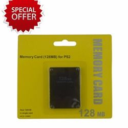 Tracked  128MB Memory Card for PS2 for Playstation 2