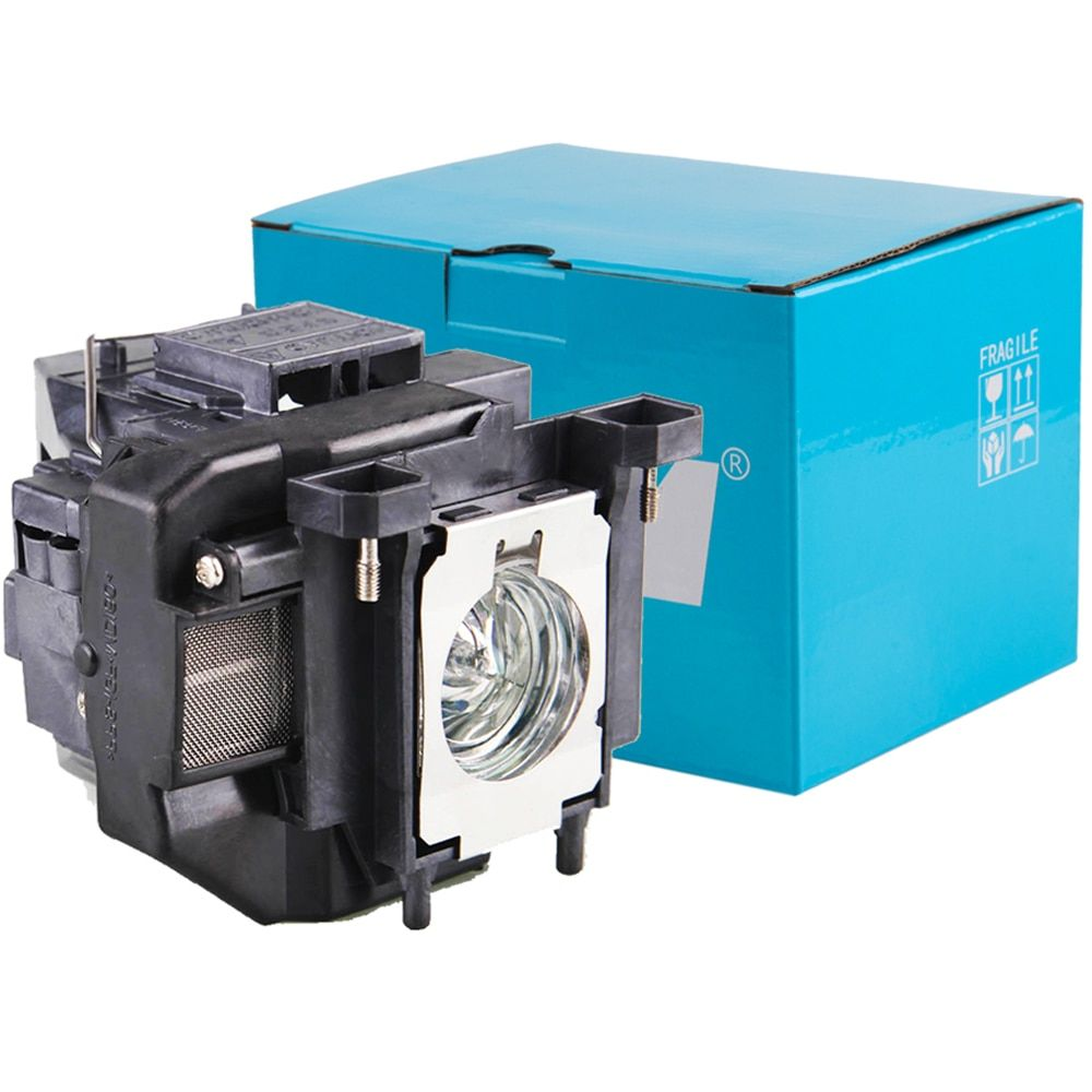 Replacement Projector Lamp ELPLP67 with Housing for Epson EB-W12 EX3210 EX5210 EX7210 Powerlite 1221 H429A H430A Retail Package