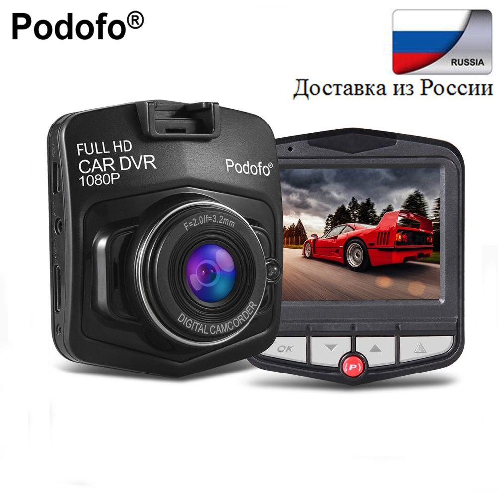 Podofo Date Mini DVR Voiture DVR GT300 Caméra Caméscope 1080 P Full HD Vidéo registrator Parking Enregistreur Enregistrement En Boucle Dash cam