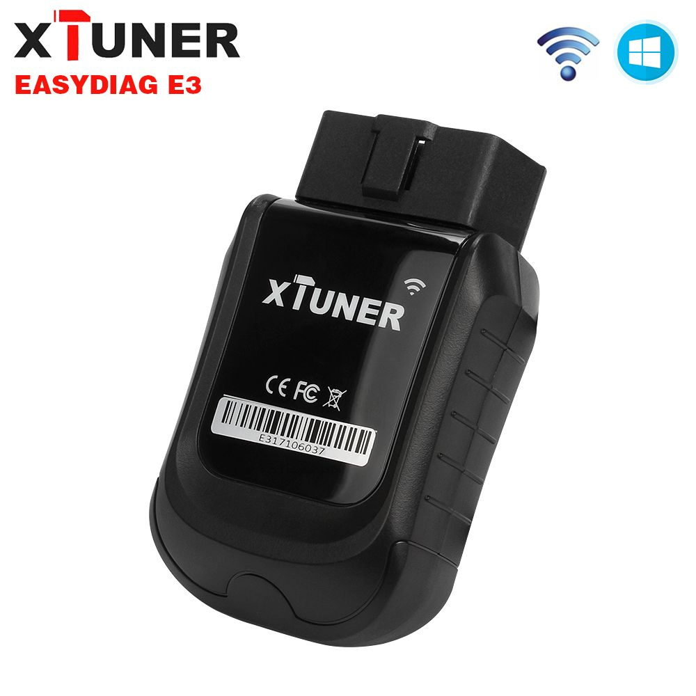 2018 XTUNER E3 OBD2 Wifi Full Systems Car Diagnostic Tool Free Car Software Update Easydiag 3.0 Auto ODB 2 Automotive Scanner
