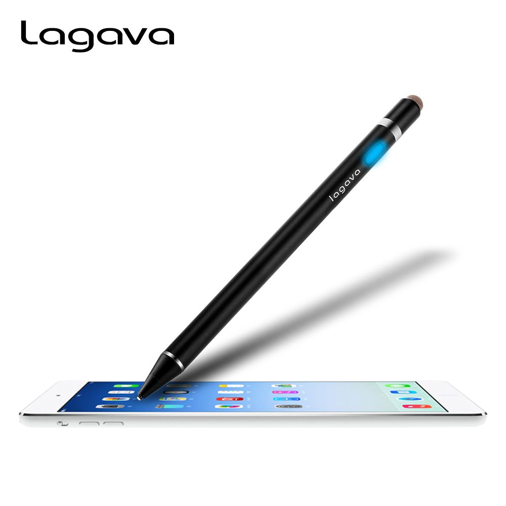 Active Stylus Pen for Drawing, 2 in 1 Capacitive Screen Touch Pencil With 1.45mm Fine Point Copper Tip for Tablet PC iPad Pro