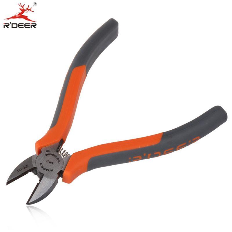 RDEER 6 ''/150mm Diagonale Pinces CR-V Couteaux Latéraux Multifonction Pour Fil De Coupe Décapant Électrique Outil D'outils À Main