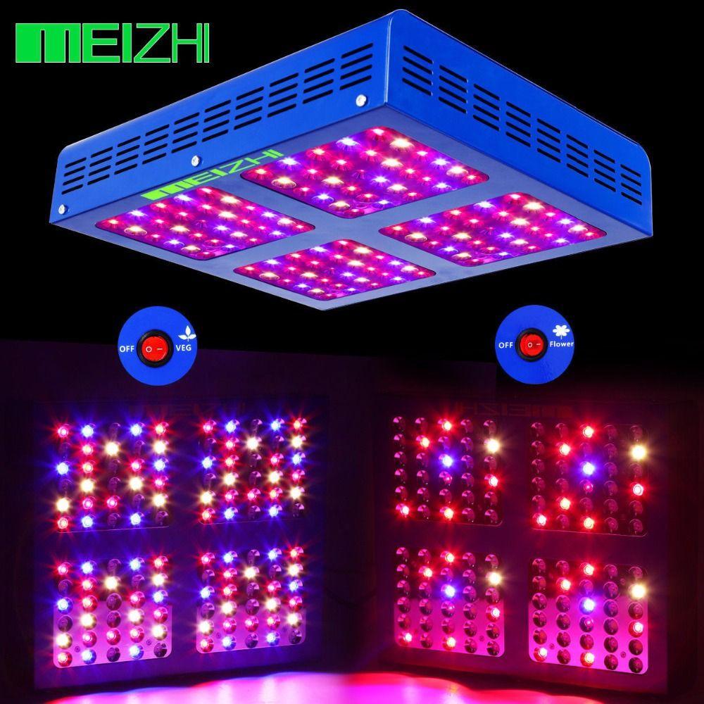 MEIZHI Reflector 600W LED Grow Light Full Spectrum Veg Bloom Hydroponics LED for Plants